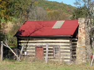 houten tuinhuis of berghut