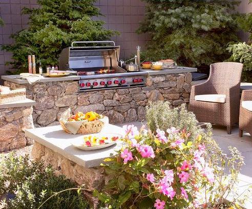Keuken Aan Tuin : Buitenleven fijn om in de tuin te vertoeven